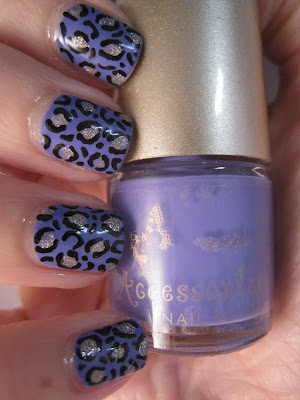 Accessorize-Electric-Purple-Models-Own-BoraBora-leopard-print-nail-art