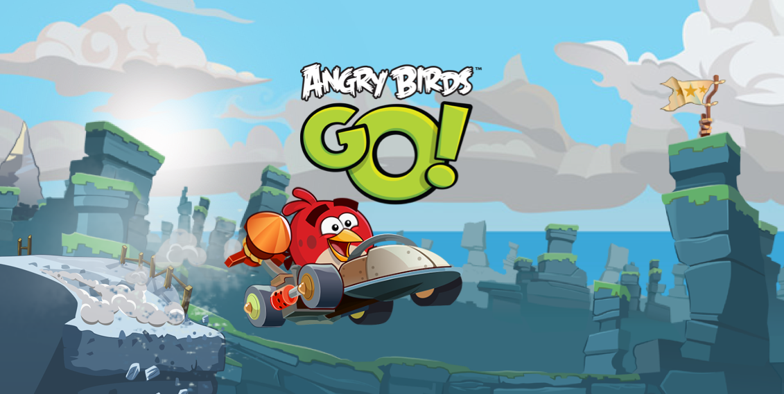 Angry Birds Go Kart Coloring Pages Angry birds go : new racing
