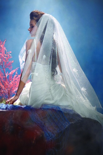 Official Disney Bridal Veils from Alfred Angelo - Ariel