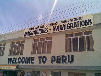 Puesto de control migratorio Bolivia-Perú