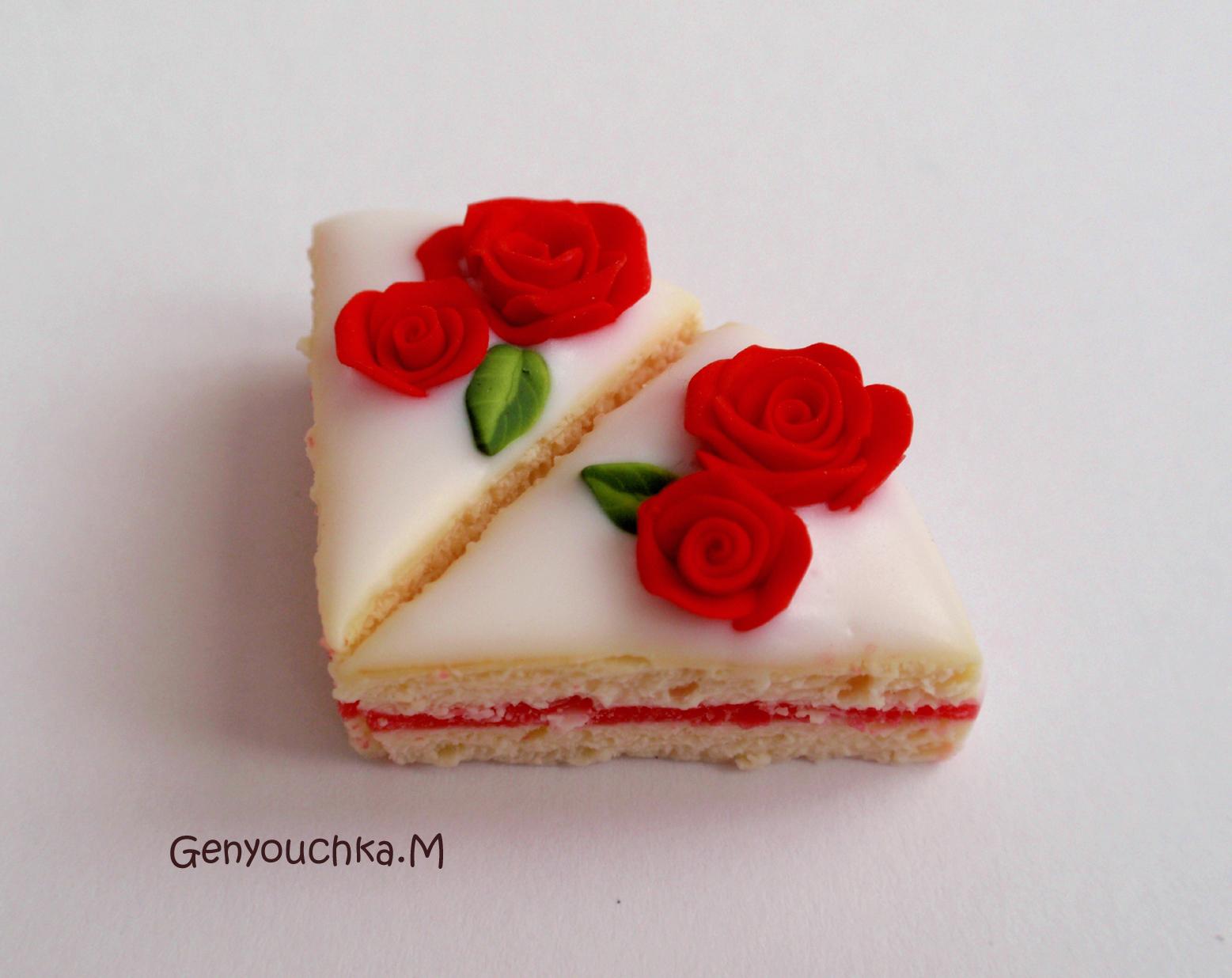 ... les desserts... en fimo: Gâteaux en pâte polymère fimo et sculpey