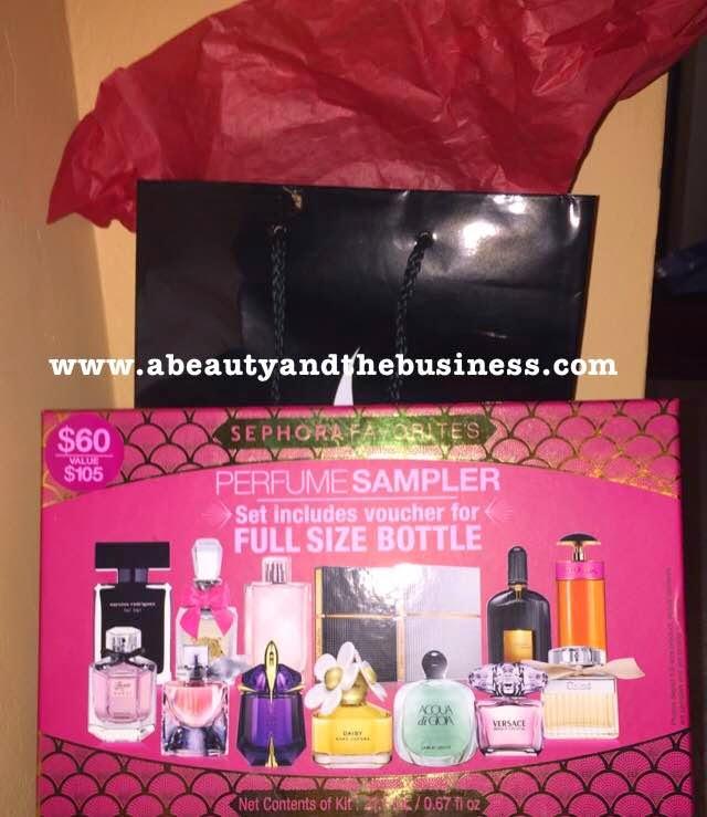 sephora haul, sephora birthday gift, , sephora, sephora favorites, sephora perfume sampler , Origins GinZing, origins gift set,