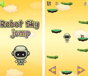 Android Game of the Month - Robot Sky Jump