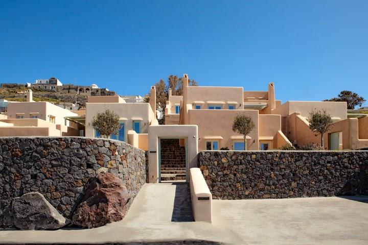 suites en Santorini