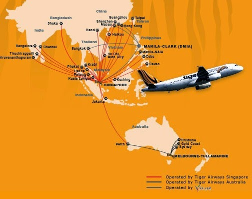 Tiger Airways: Latest Travel Deals Departing from India | Best ...