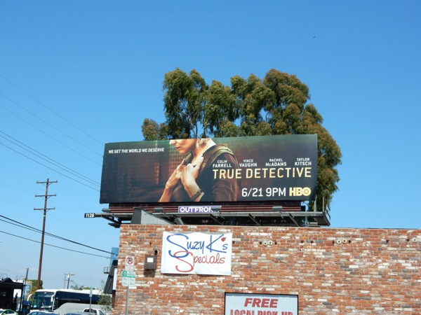 True Detective season 2 HBO billboard