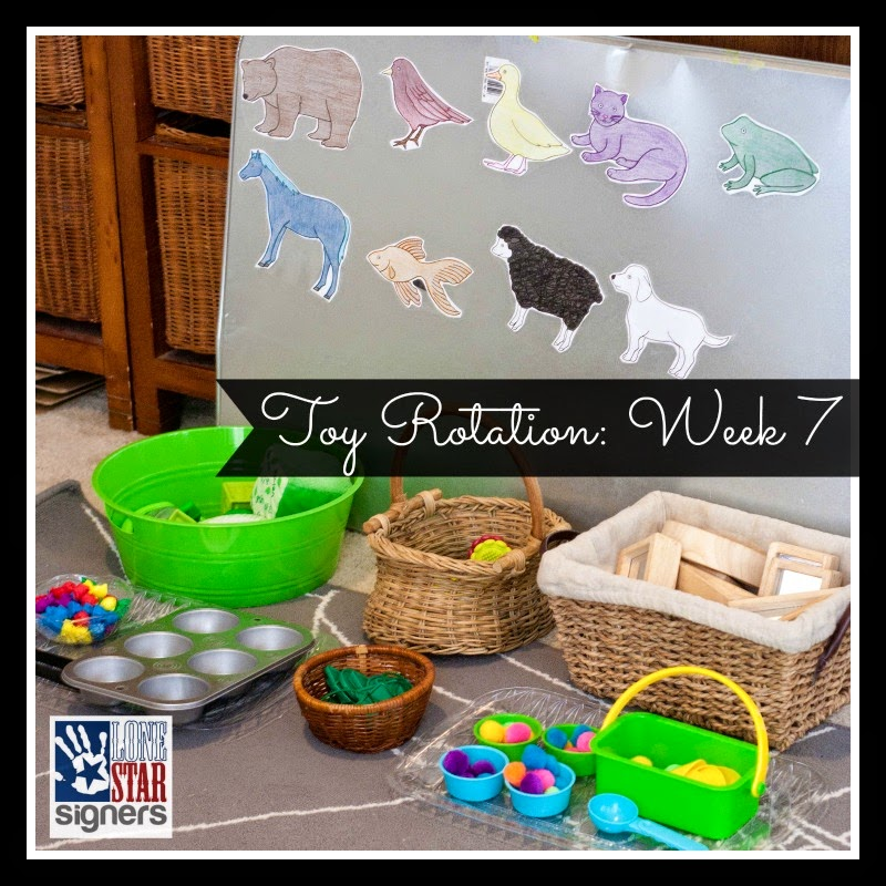 Tot Tray Wednesday #7 | Pets