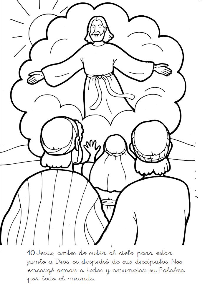 MUERTE DE JESÚS para colorear - Imagui