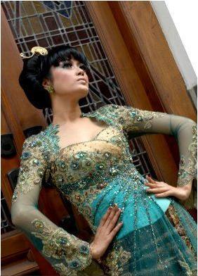 Model Kebaya Modern | Trend Baju Kebaya Pengantin Terbaru 2011-2012