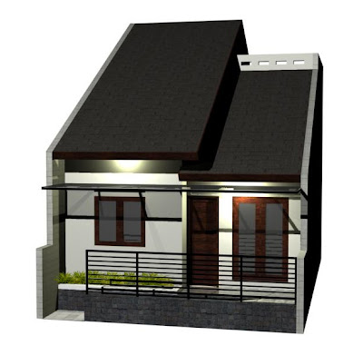 rumah kecil minimalis desain cantik