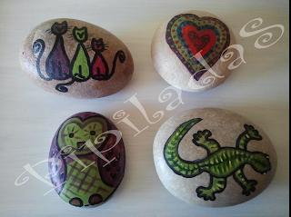 Pipiladas piedras