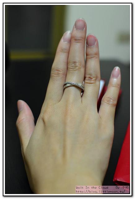 右手中指剛剛好