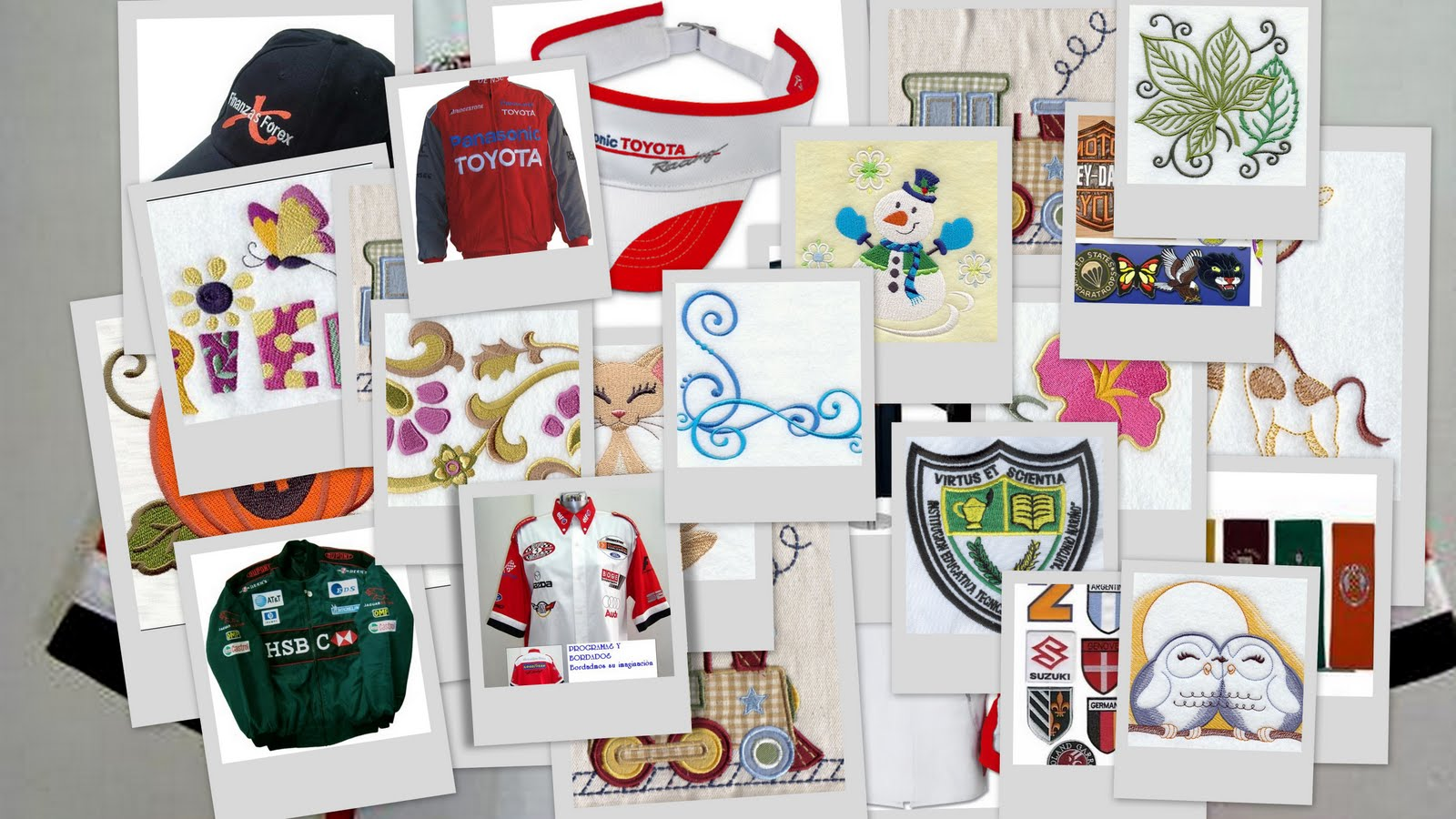 PROGRAMAS Y BORDADOS: Cursos diseño de bordado