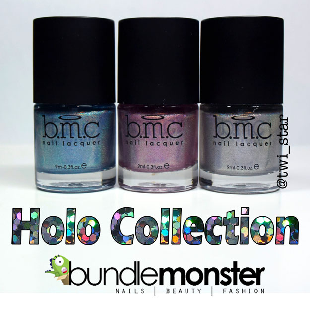 Bundle Monster Holographic Polish Set