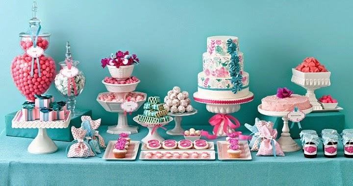 Marzua c mo decorar una mesa de dulces - Como decorar mesas para fiestas ...