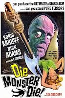 Die Monster Die 1965  cover