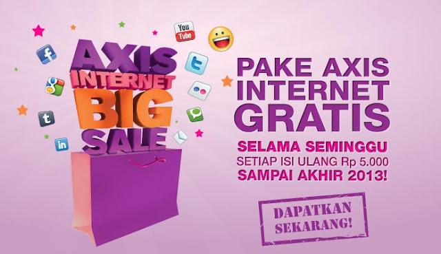 Paket AXIS Internet GRATIS