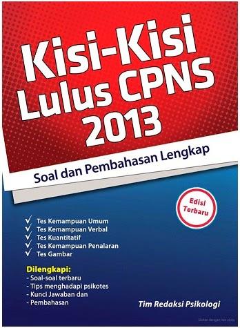 Download Buku Ebook Soal Latihan Cpns Tahun 2013 Dan Prediksi Cpns 2014 Cat