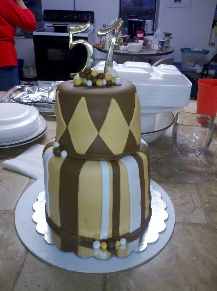 Make It Special Cakes By Bridgette Pastors Birthday Cake