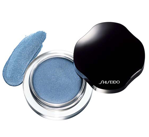 Блестящи крем сенки за очи Shiseido - синьо