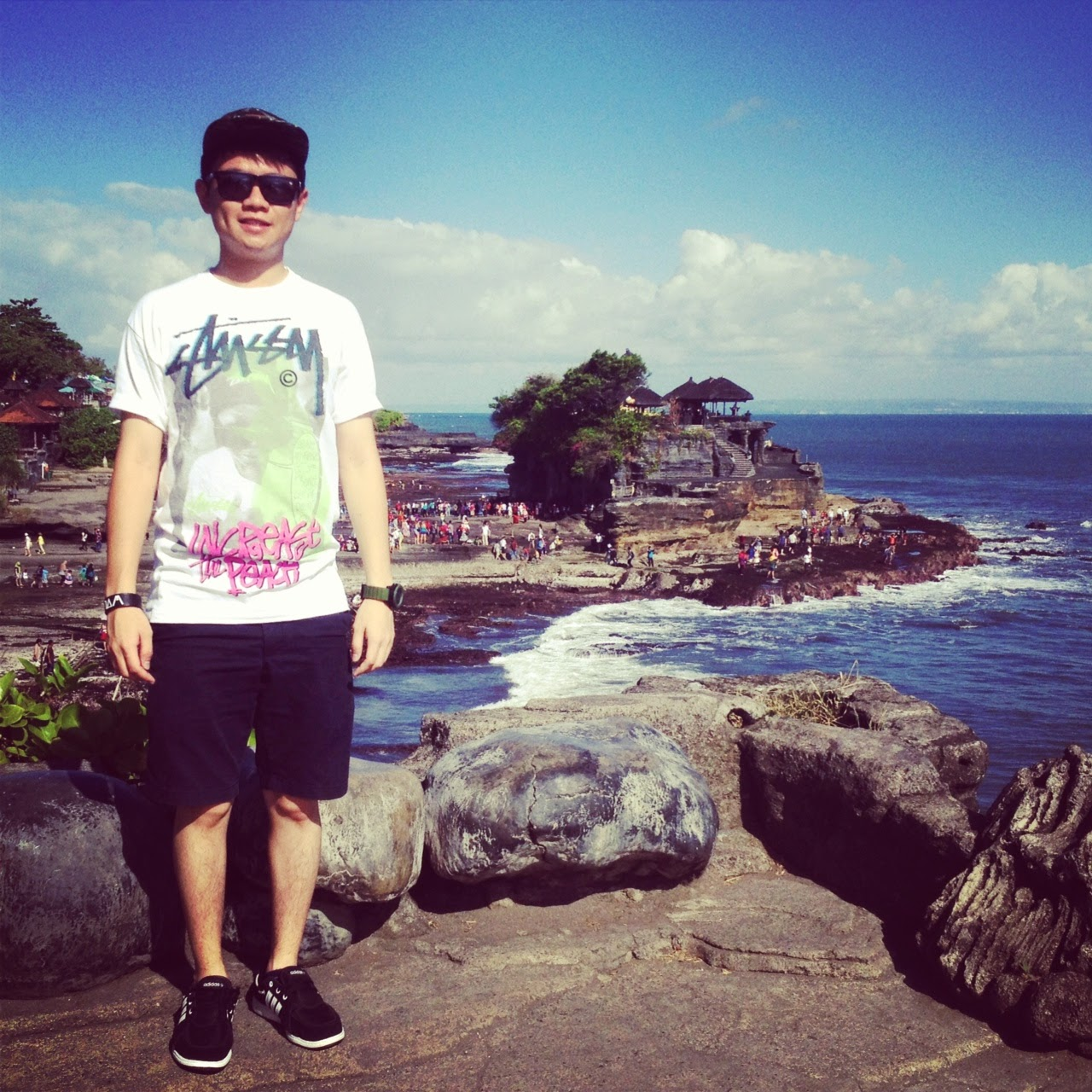 VISITED TANAH LOT TEMPLE IN BALI, SUPERB VIEW