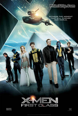 X-men: First Class 2011 poster