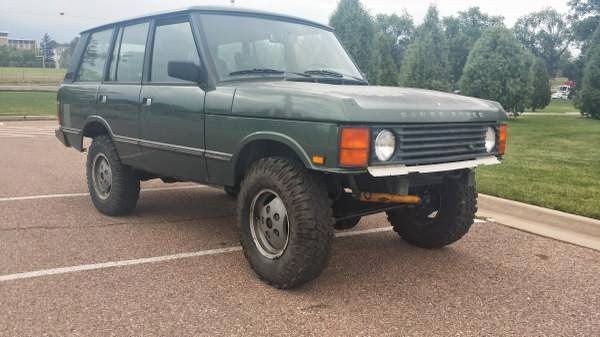 1990 range rover classic for sale 4x4 cars. Black Bedroom Furniture Sets. Home Design Ideas
