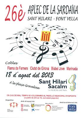 26è Aplec de la Sardana Sant Hilari-Font Vella