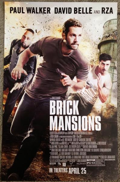 Paul Walker And David Belle In Brick Mansions Wallpaper