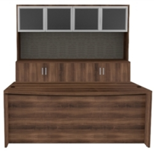 Cherryman Amber Desk and Credenza