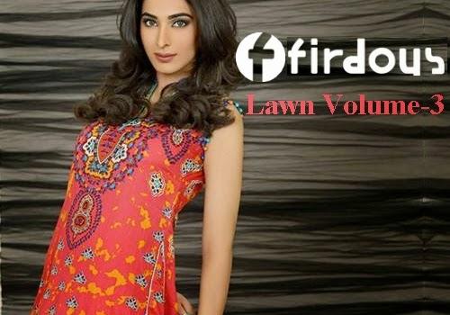 Firdous Lawn 2014 Vol-3