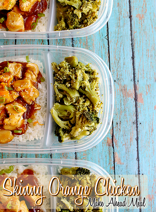Skinny Orange Chicken Make-Ahead Meal with Click N' Pull ingredients from @SamsClub. Save time and money when you buy and cook in bulk! #TrySamsClub #shop