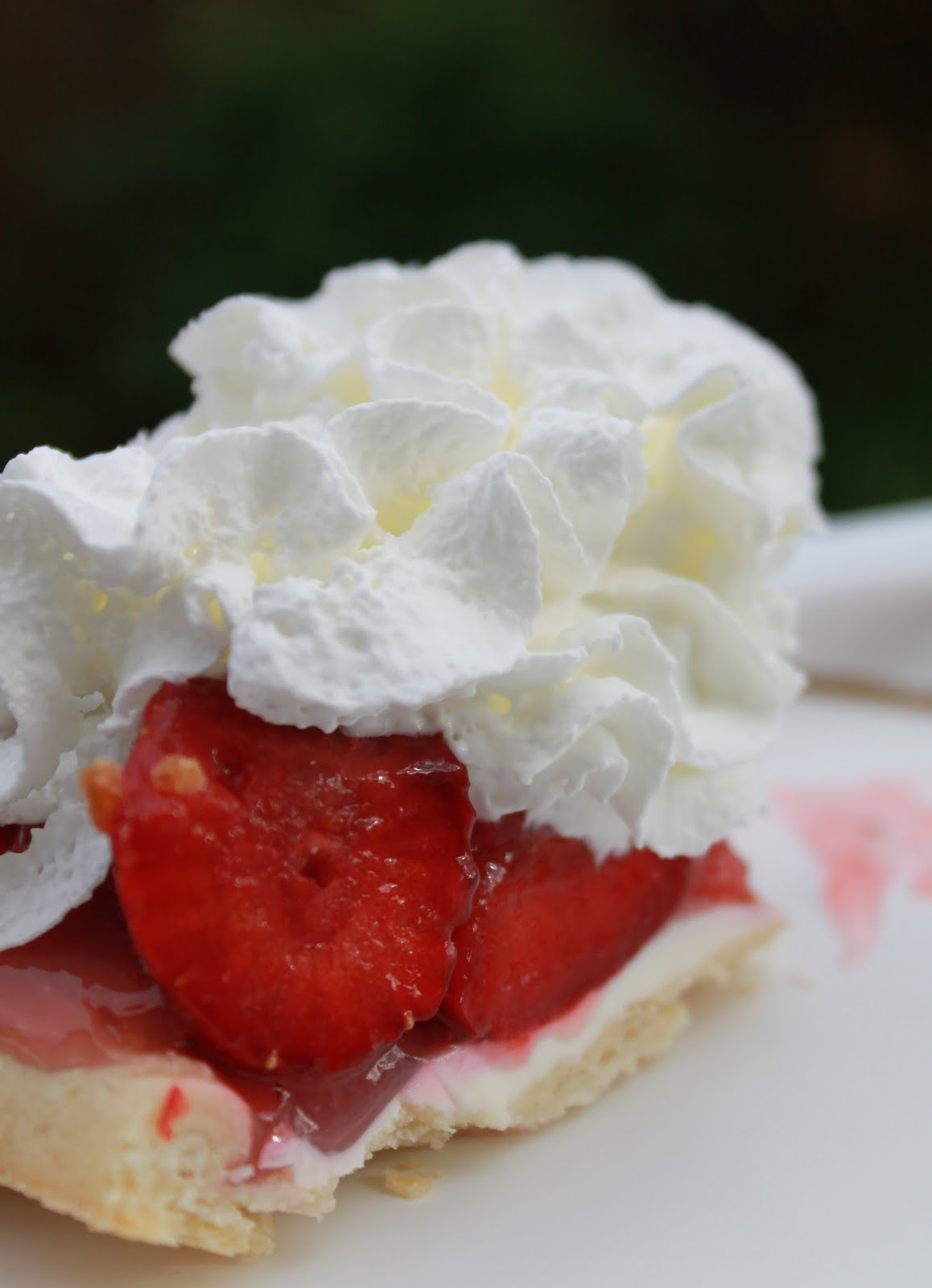 ... pie crust baked 3 to 4 cups strawberries depending on size of pie