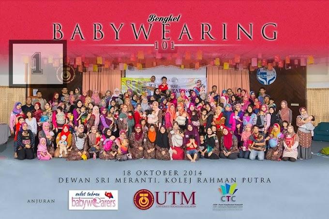 Bengkel Babywearing 101 By Selat Tebrau Babywearers