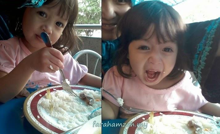 anak memilih makanan