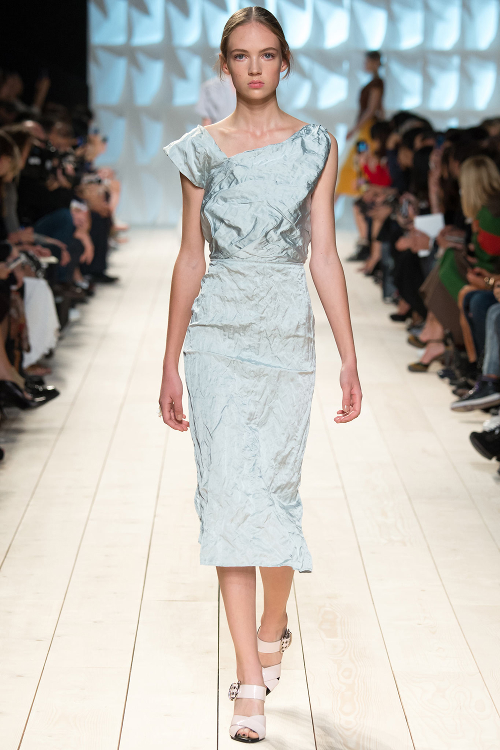 Pantone Colour Report Spring 2015 trends / aquamarine / how to wear aquamarine / outfit ideas / fashion collections S/S 2015 / Nina Ricci Spring 2015 / via fashioned by love british fashion blog