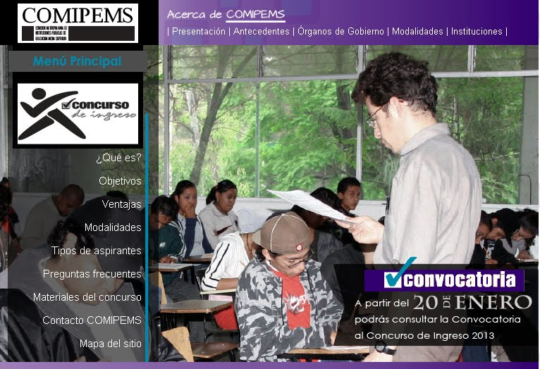 Pre-registro Comipems 2013 publicacion registro 20 de enero
