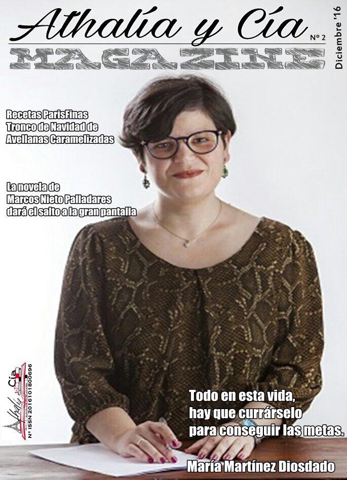 Colaboro con la revista Athalía y Cía Magazine