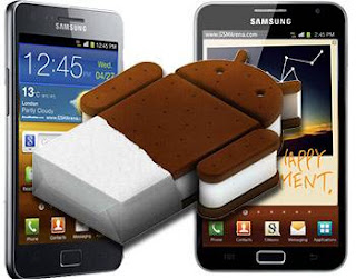 samsung galaxy note android ice cream sandwich