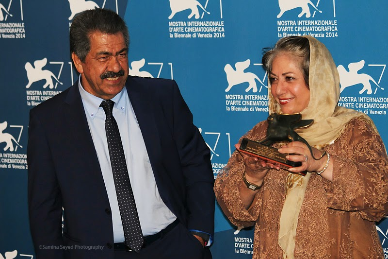 Rakhshan Banietemad, Award Winners Photocall - 71st Venice Film Festival, Best Screenplay
