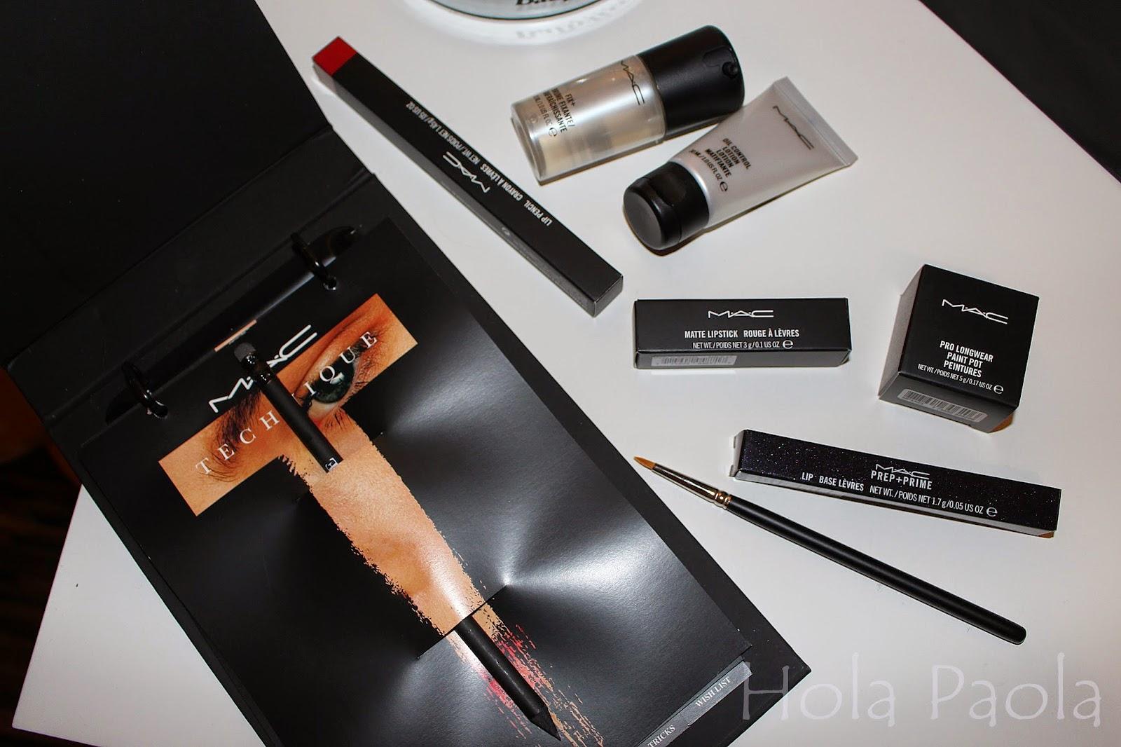 Mac Technique – Warsztaty Makijażu MAC opinia recenzja szkolenie kurs poznań city center cosmetics eye oko kreska usta szminka