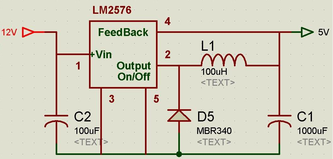 embedded systems some voltage regulator ciruits for microcontroller rh electrotech99 blogspot com