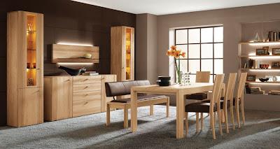 Nội thất gỗ sồi phòng khách
