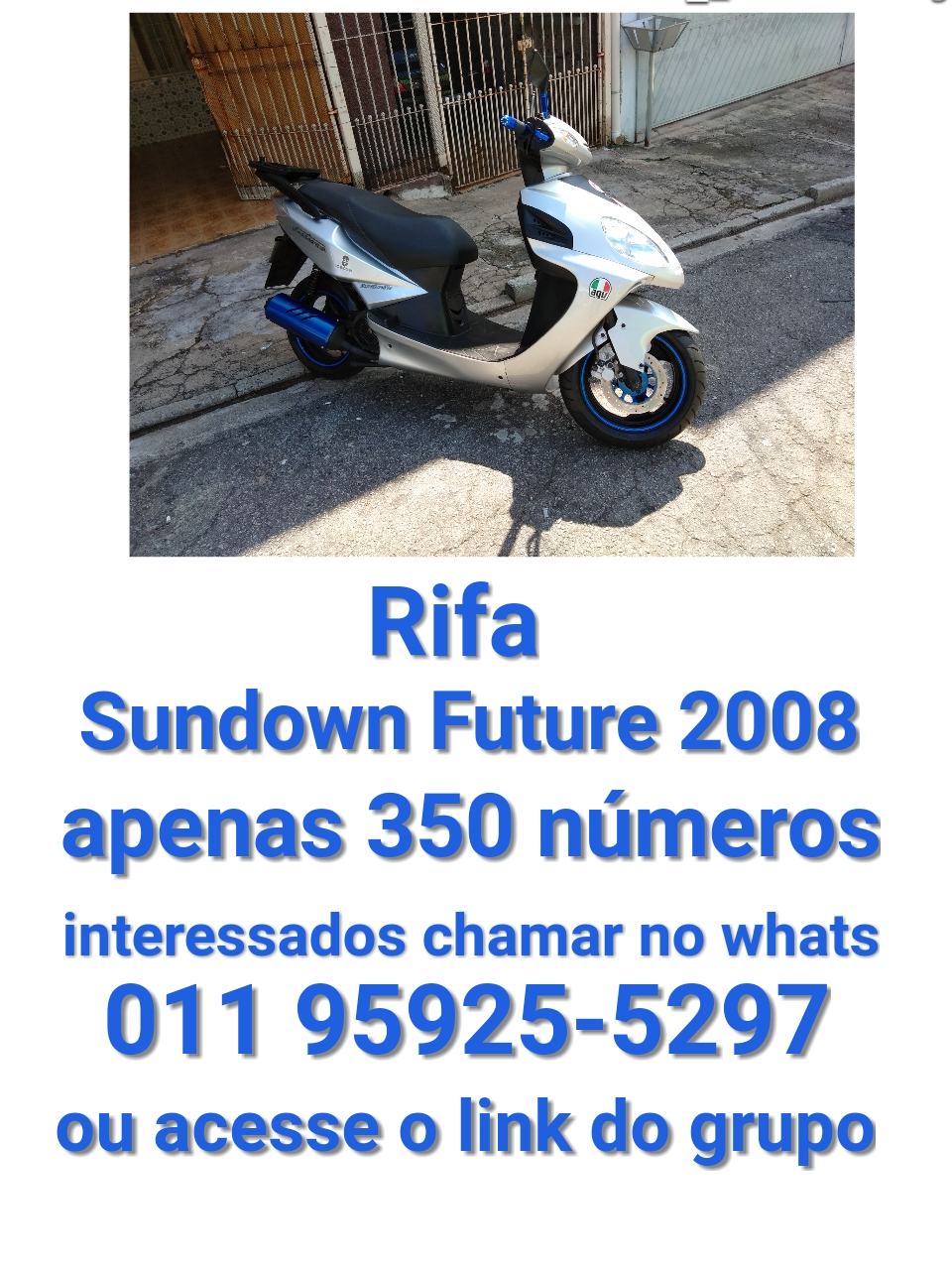 Rifa Scooter Sundown Future 125cc 2008