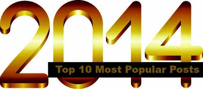 Top 10 Most Popular Posts of 2014
