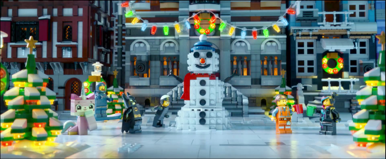 The Brickverse: The Lego Movie at Christmas in new Sky Movies advert