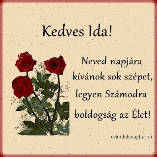 Április 13 - Ida névnap