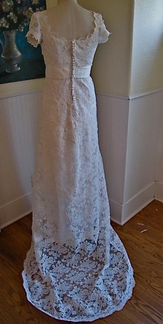 Semi- Edwardian style wedding dress – WeSewRetro.com