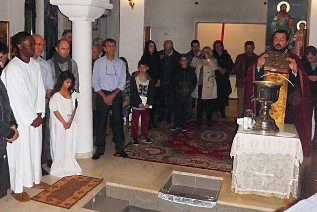 Βαπτίσεις αλλοδαπών στην Αλεξανδρούπολη