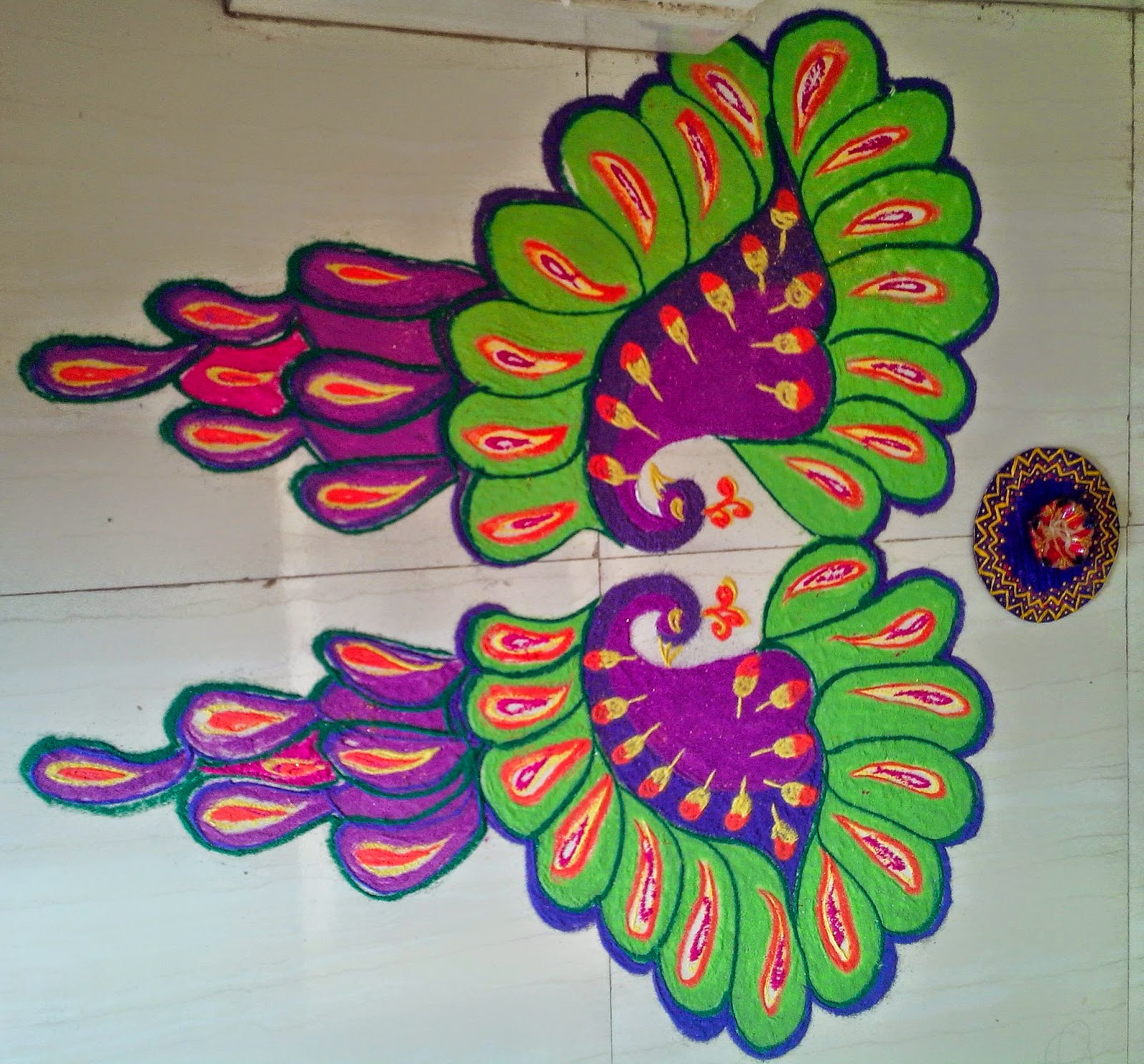 Rangoli Design for Dussehra 6. 30 Rangoli Designs for all Occasions